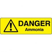 Markers safety sign - Ammonia 002